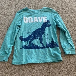 Carters boys brave tee size 5T